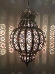 Moroccan Crystal Chandelier Tin Chandelier