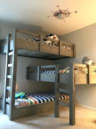 Bunk Bed Sets 3 Bunk Bed Set Bunk With Storage Bunk Beds For Triplets