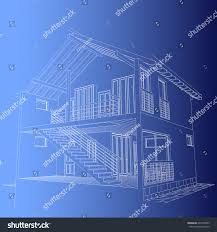 blueprint of house authors project blueprint architectural design halftimbered stock
