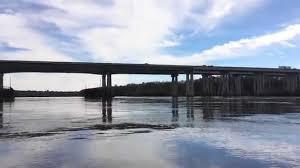 Interstate 95 In Georgia Wikipedia Kayaking The Savannah River Under The Interstate 95 Bridge Youtube