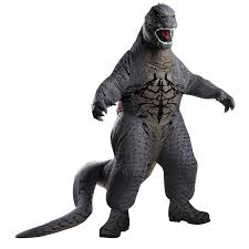 delux halloween costumes godzilla deluxe inflatable costume buycostumes com