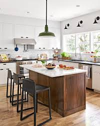 kitchen island colors with wood cabinets 22 contrasting kitchen island ideas for a stand out space