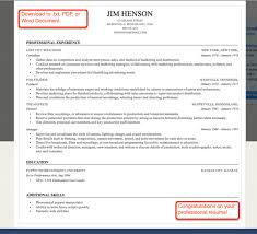 Resume Template Pdf Free Free Resume To Print Resume Template And Professional Resume