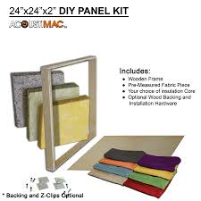 acoustimac diy222 acoustic panel kit