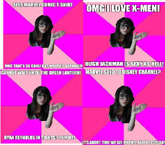 Idiot Nerd Girl Meme - idiot nerd girl comp