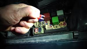how to check fuses in toyota corolla year models 1996 to 2001