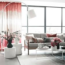 Pink Living Room Ideas Inspired Pink Living Room Furniture With Floor Lamps