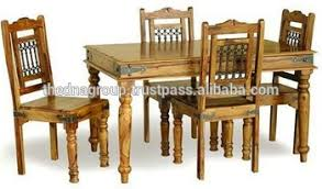 indian wood dining table indian traditional wooden dining table with four chairs buy indian