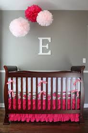 cute baby room decorating ideas with purple decoration wall
