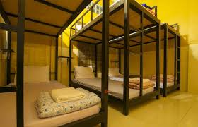 Hostel Bunk Beds Cool Bunk Bed In Mixed Dormitory House Hostel
