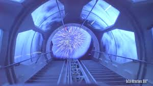 excellent low light full hyperspace mountain pov ride star wars