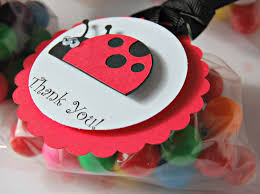 black tie party favors ladybug themed birthday party favor tags set of 12 party favor
