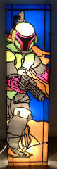 185 best science fiction stained glass images on pinterest