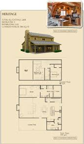 3 Bedroom Cabin Floor Plans by Best 25 Barn House Plans Ideas On Pinterest Pole Barn House