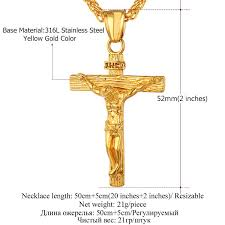 cross jesus necklace images Cross jesus pendant necklace safe and shine jpg