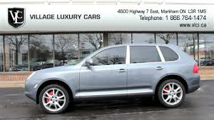 porsche cayenne 2006 turbo 2006 porsche cayenne turbo in review luxury cars toronto