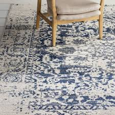 Navy Area Rug Mistana Loretta Navy Area Rug Reviews Wayfair