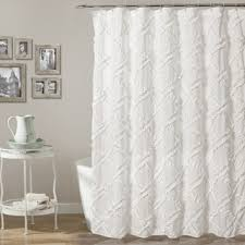 Ruffled Shower Curtains Lush Decor Ruffle Shower Curtain Free Shipping Today