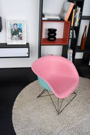 Ames Chair Design Ideas Customized 2 Toned Eames Lafonda Chair On Lowrod Base Fiberglass
