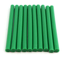green color colored glue sticks surebonder
