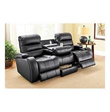 Powered Reclining Sofa Prime Black Power Reclining Sofa Leather Sectionals Sofas