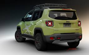 new jeep renegade green naias 2015 year of the jeep renegade begins jpfreek
