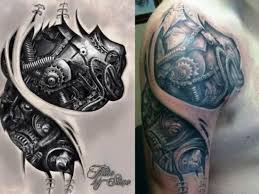 20 biomechanical tattoos tattoofanblog