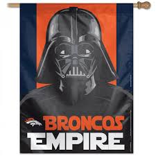 Dallas Cowboys Flags And Banners Denver Broncos Darth Vader Star Wars House Banner