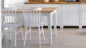 cuisine en bois blanc d licieux table de cuisine blanche m20001574245 2 chaise