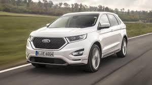 ford edge crossover ford edge vignale review 40k ford crossover driven top gear