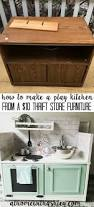 how to make a play kitchen from a 10 piece of furniture plays