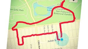 Map My Walk Route How To Make Gps Art Outside Online