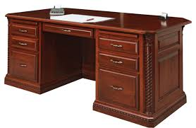 Executive Office Desk Cherry Homestead Executive Desk Gish U0027s Amish Legacies