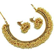 fashion jewellery necklace set images Buy designer pearl modern style artificial jewellery set online jpg