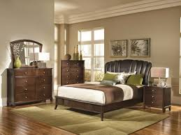 wall mounted brown wooden rectangle platform bed french country