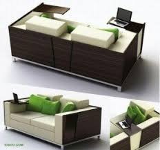 Sofa With Bed Modern Pull Out Sofa Bed Foter