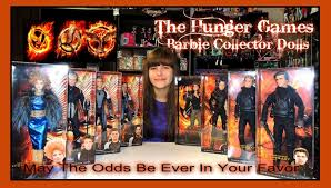 The Hunger Games Barbie Collector Black Label Doll Collection
