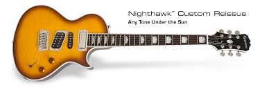 epiphone nighthawk custom reissue electric guitar
