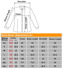 blouse size chart size chart mue mue pte ltd