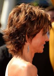 Layered Hairstyle For Thick Hair Side View Of Lisa Rinna S