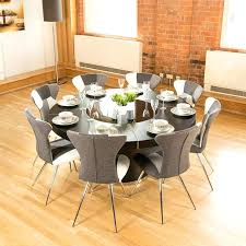Lazy Susan Dining Room Table Dining Table With Lazy Susan Brown Dining Table For 8