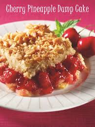 cherry pineapple dairy free dump cake recipe