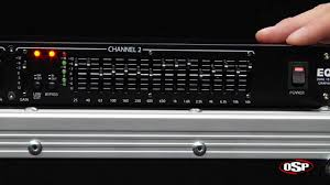 osp eq 215 dual 15 band equalizer youtube