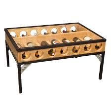 wine display coffee table wine shelves wine rack display table