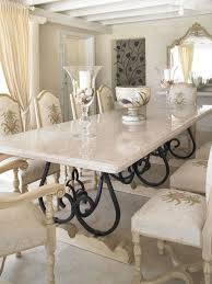 furniture mesmerizing white marble dining table sets plus small