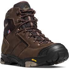 danner mt adams 4 5in mens brown leather goretex hiking boots