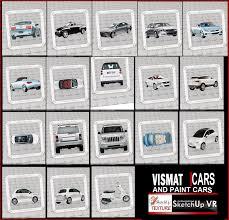 sketchup texture vismat cars vray for sketchup