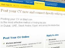Posting Your Resume Online by How To Build Your Cv Resume On Bayt Com Youtube