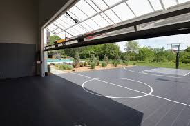 Basketball Courts With Lights Baltimore Indoor Basketball Courts Home Gym Farmhouse With High