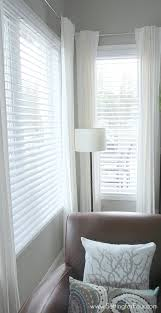 decorating 3 wood blinds wooden faux blinds white wood blinds